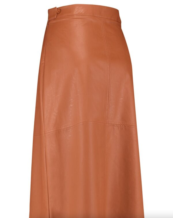 maxime faux leather rok studio anneloes
